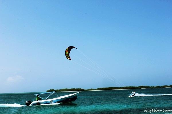 Kitesurf em Los Roques