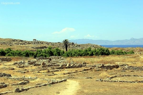 Grécia Ilhas Cíclades Delos Mykonos Museu Arqueológico